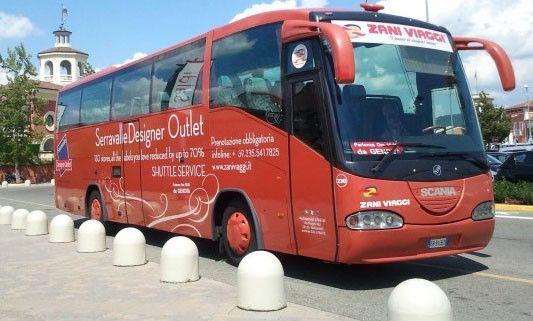 Avtobus do autleta Seravalle