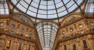 Gallereya v centre Milana