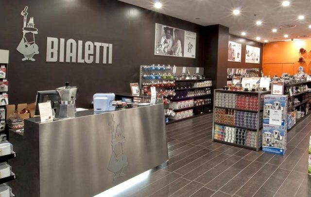 Magazin Bialetti v Milane