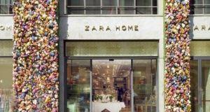 Magazin Zara Home v Milane