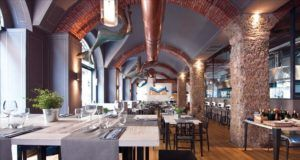 Restoran Anema e Cozze v Milane