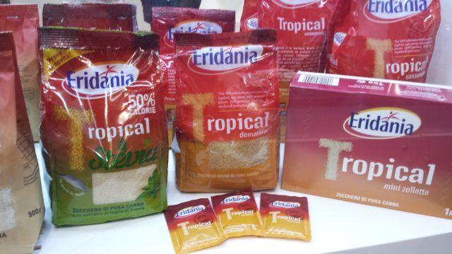 Sahorozamenitel tropical and steviya