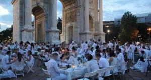 Cena in Bianco в Милане