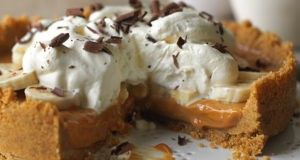 Banoffee Pie Recept s foto
