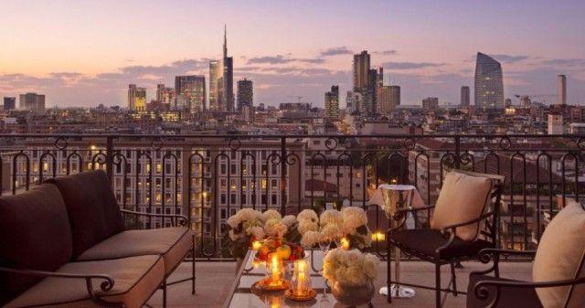 aperitiv v Milane