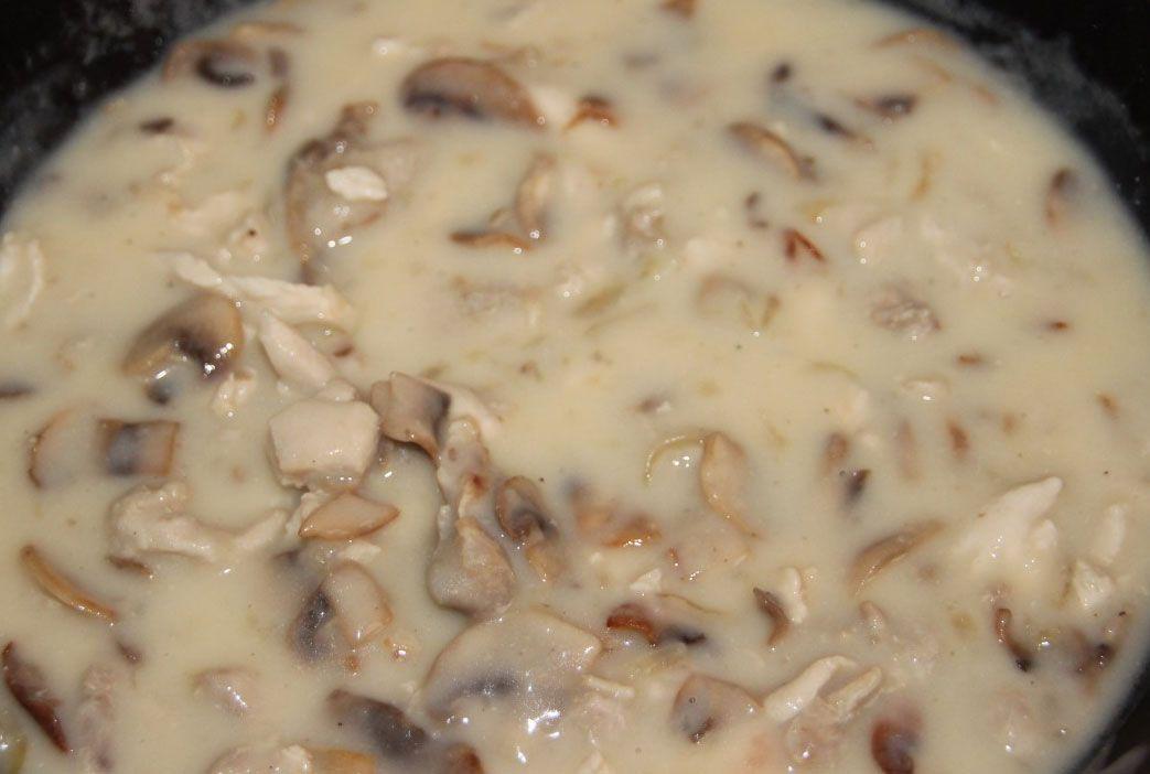 Жульен сушеных грибов рецепт с фото