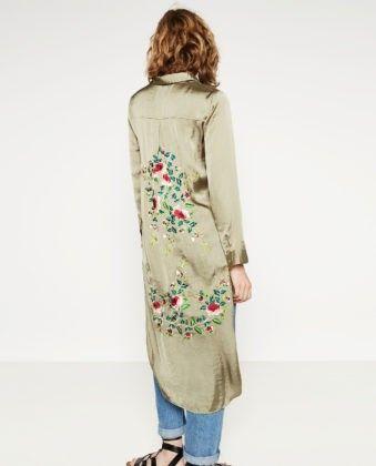 Рубашка Zara, 49,95 евро