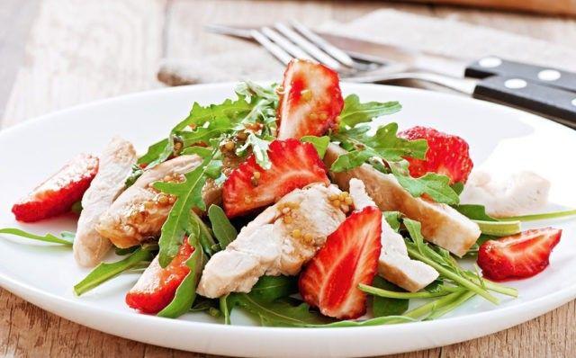 Салат из курицы