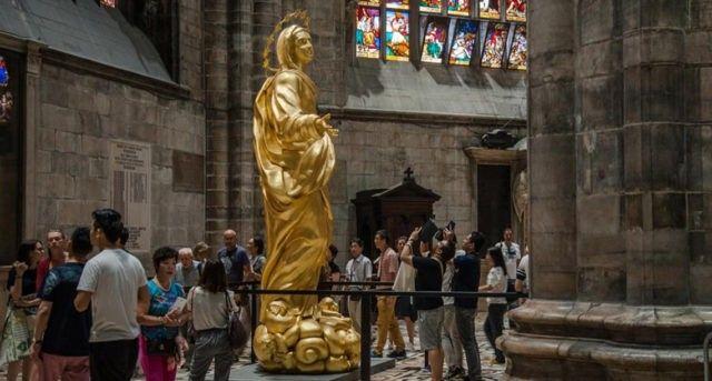 copia Madonnina Duomo
