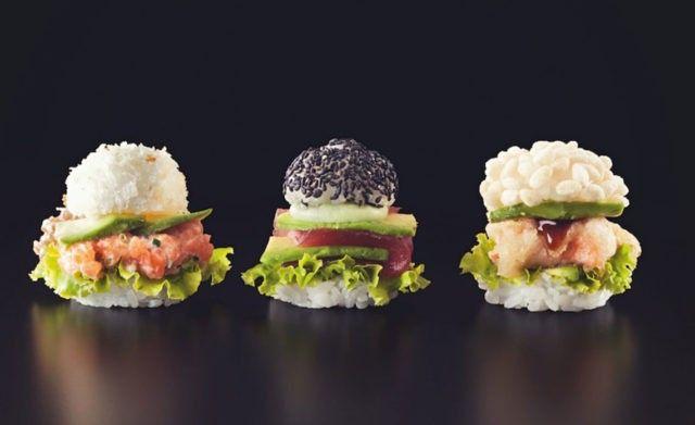 Суши бургеры в Милане