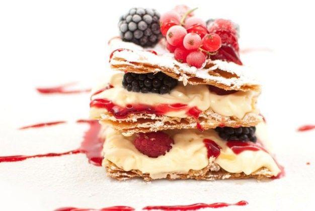 Десерт миллефолье