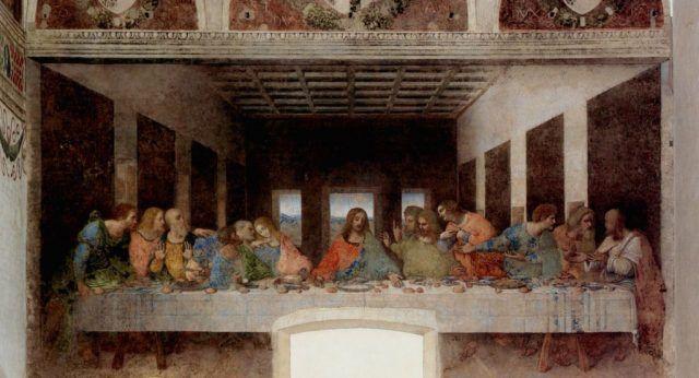 Тайная Вечеря фреска, Милан