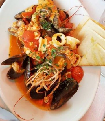 Паста с морепродуктами Nabucco