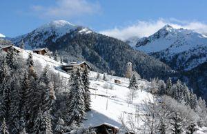 Лыжный курорт в Италии