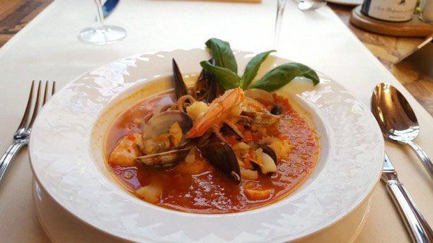 Rossini zuppa frutti di mare
