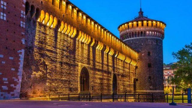 Castello Sforzesco в Милане