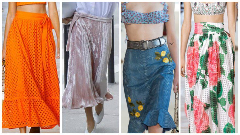 Модные юбки тренды весна лето