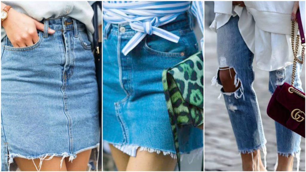 джинсовые вещи тренды 2017