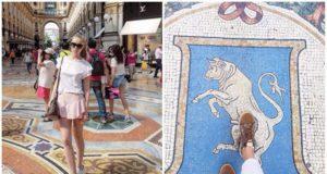 Milan Galleria Vittorio Emanuele-II