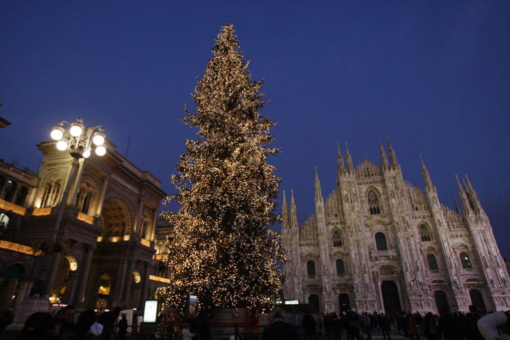 Albero di Natale на Дуомо
