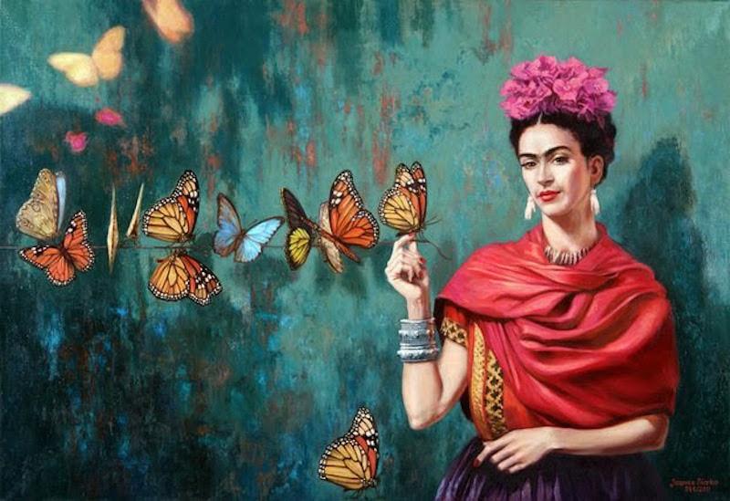 Выставка Frida Kalho в музее Mudec
