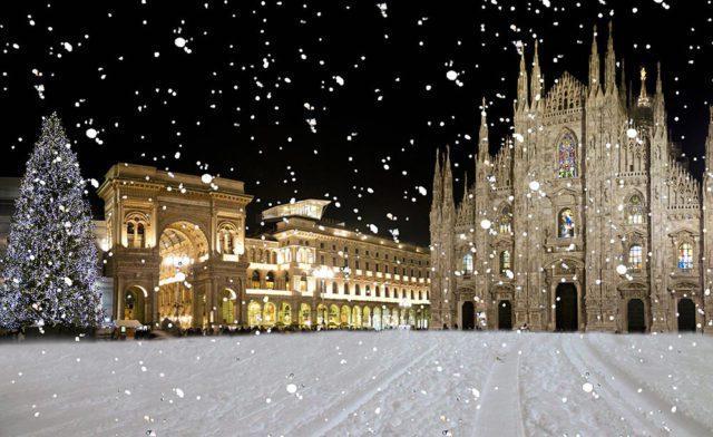 Piazza Duomo Новый Год