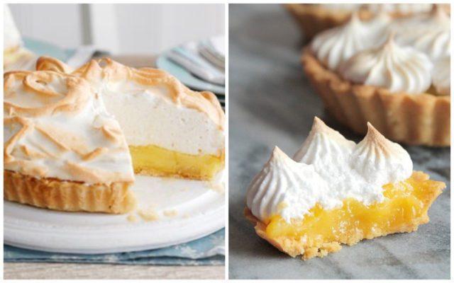 Рецепт лимонный тарт