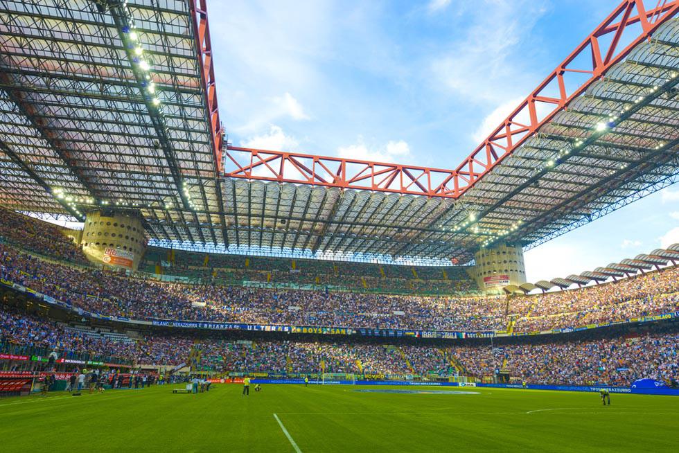 Стадион Сан Сиро в Милане