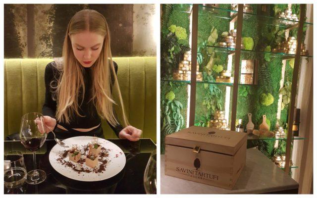 Savini Tartufi Restaurant Milan