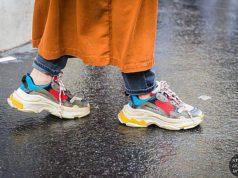 модные кроссовки весна лето 2018 с чем носить
