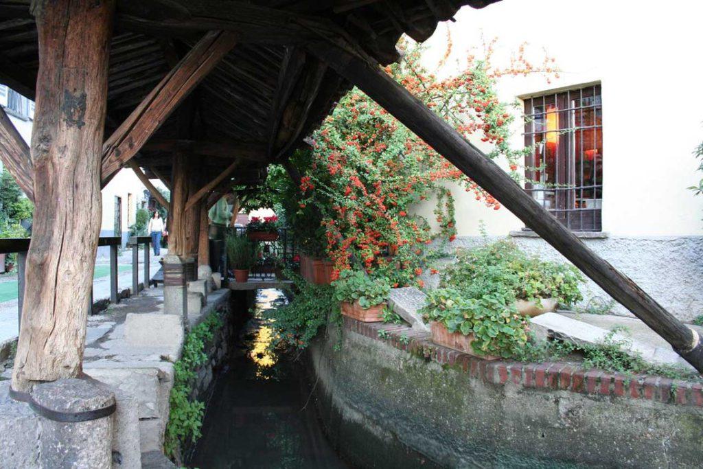 Vicolo dei lavandai в Милане