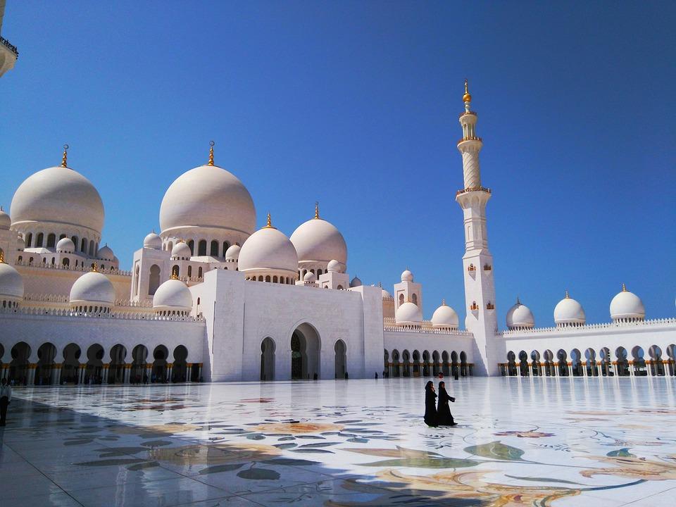 Grande Moschea Sheikh Zayed Emirati Arabi Uniti