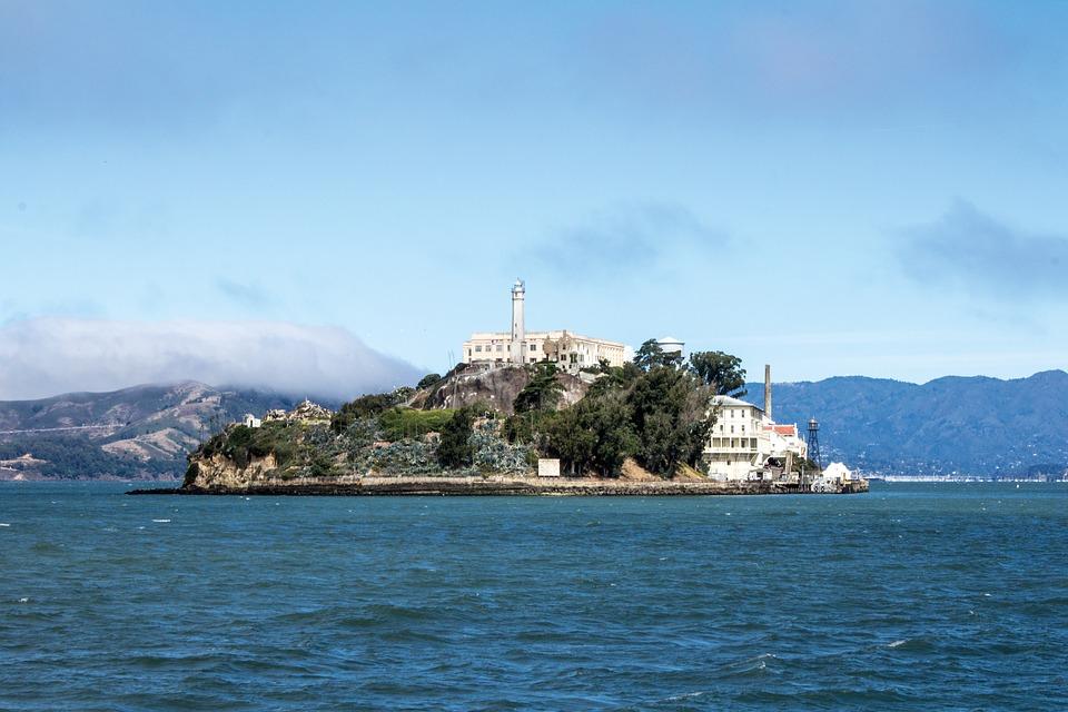 Isola di Alcatraz USA
