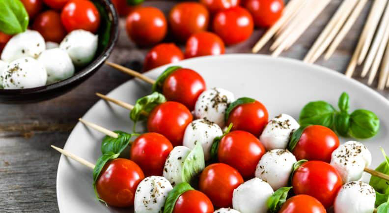 caprese finger-food