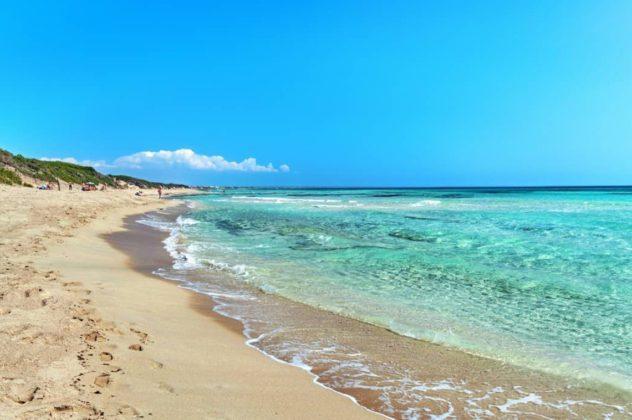 пляж Punta Prosciutto