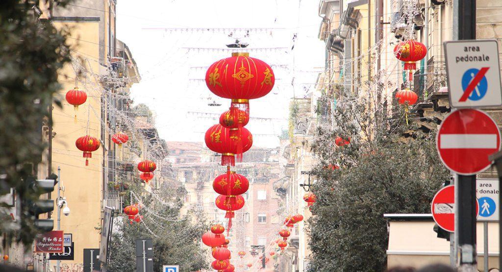 Китайский район Милан