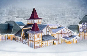 Дом деда Мороза Милан