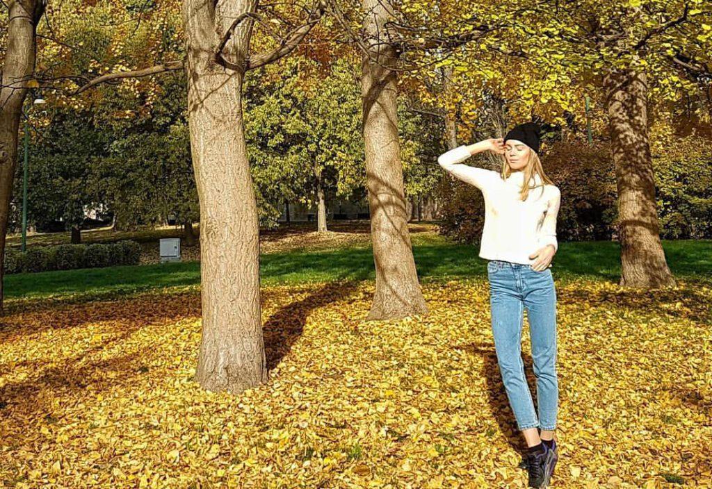 Осень в Милане