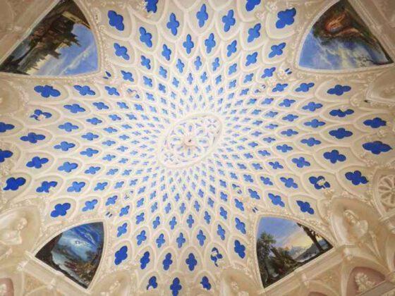 Castello Uviglie зал