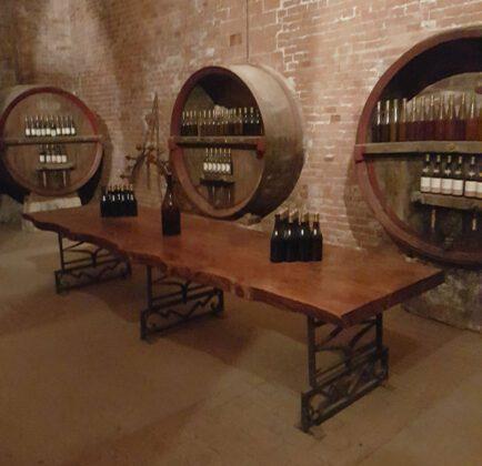 Castello di-Uviglie winetasting