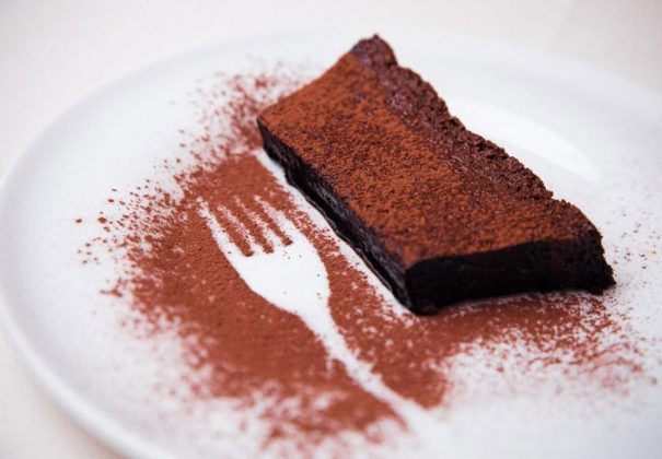 Trattoria Sarroc chocolate-cake