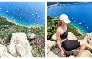 Punta Manara Sestri Levante море Лигурия