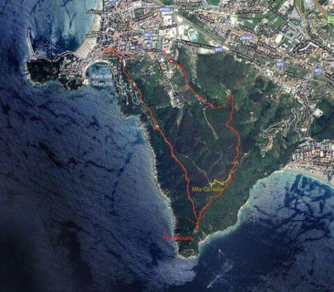 Punta Manara маршрут