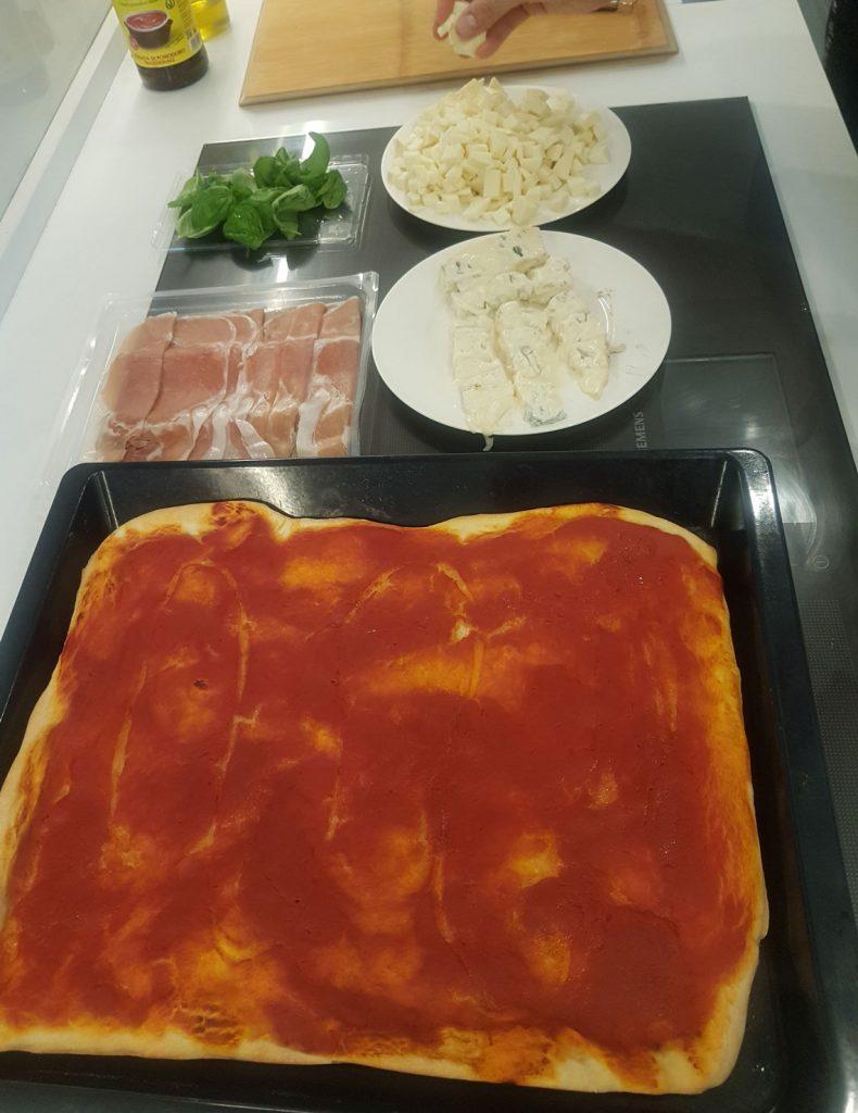 Рецепт пицца
