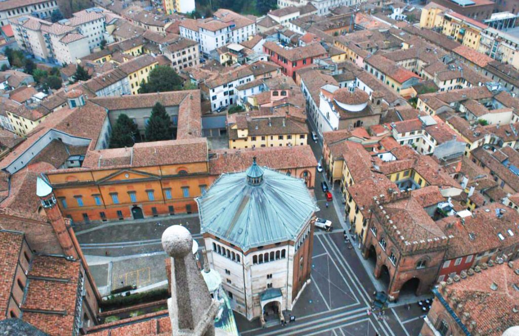 View from Torrazzo Tower